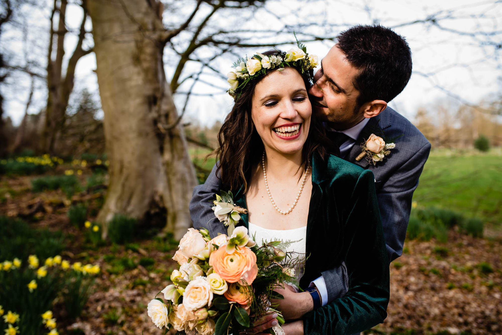 Chaucer Barn Wedding Photo