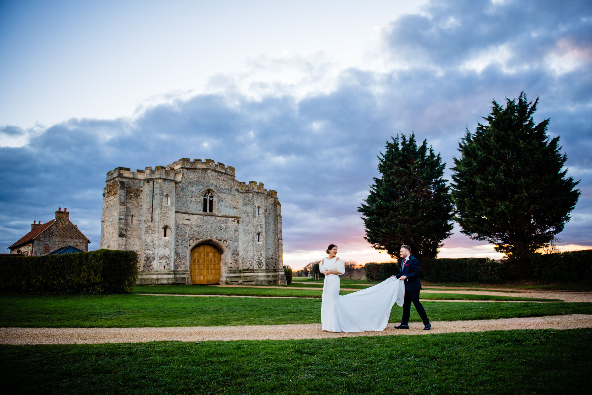 pentney abbey wedding photography