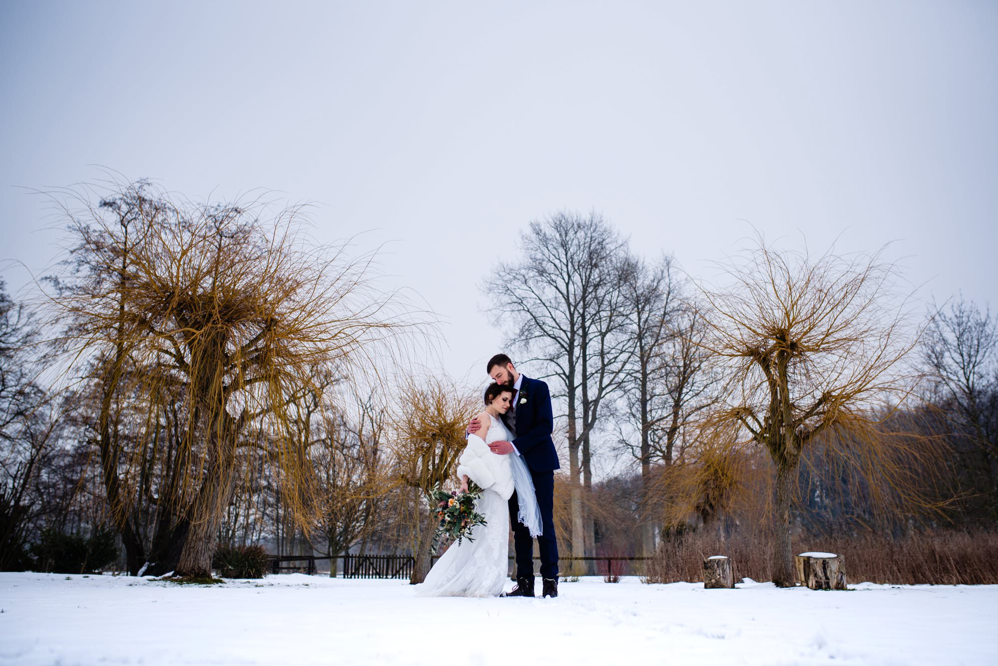 Snowy Wedding at The Norfolk Mead