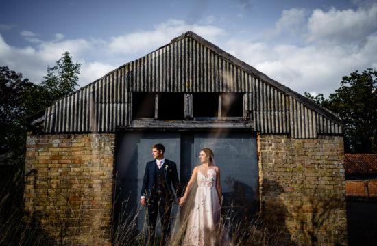 Couple at Henham Barns