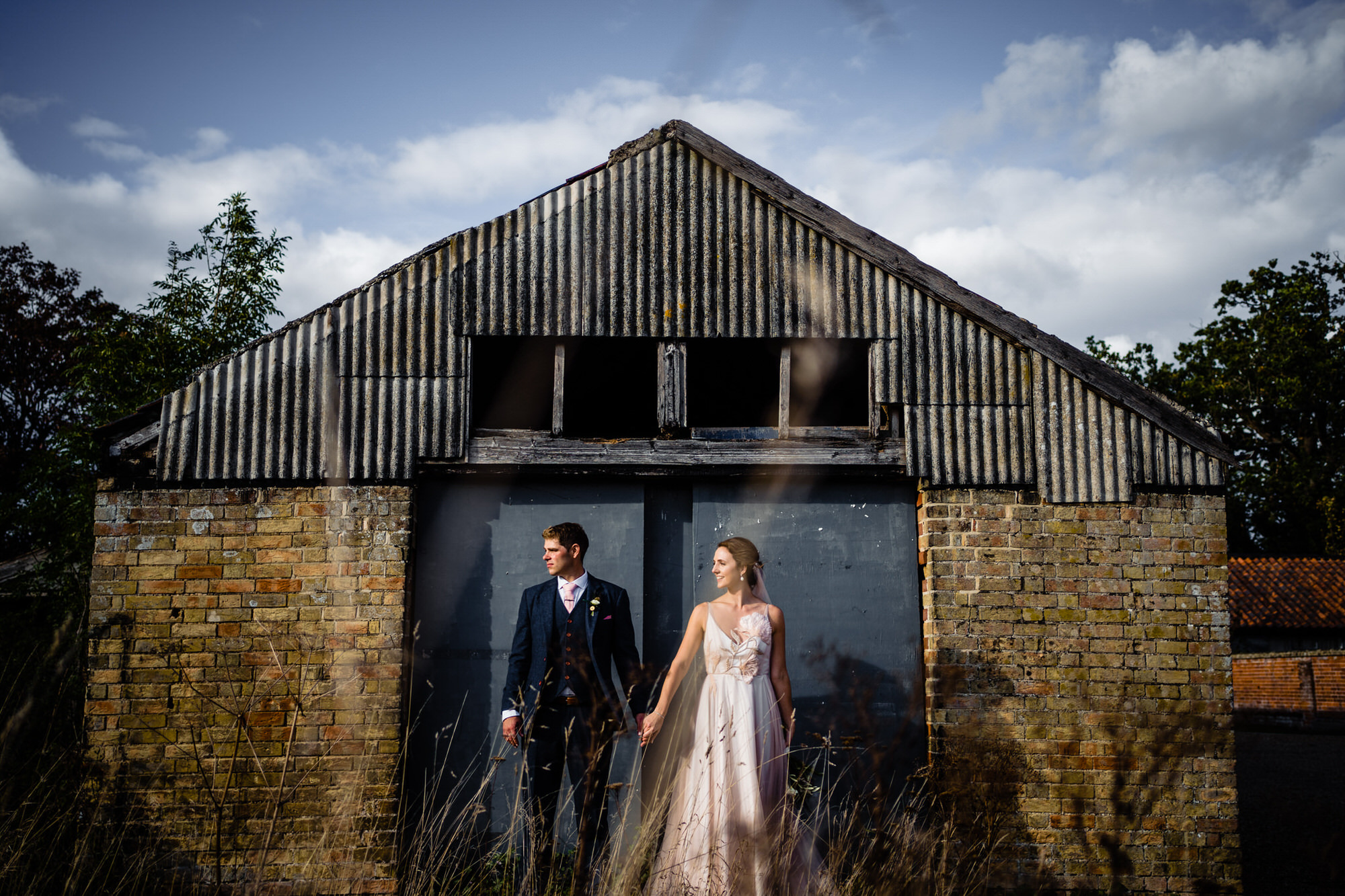 Couple at Henham Barns