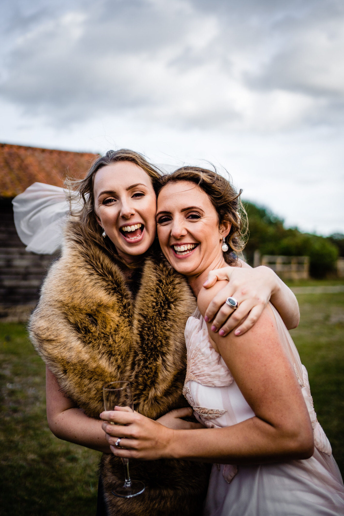 Wedding Day at Henham Park Barns