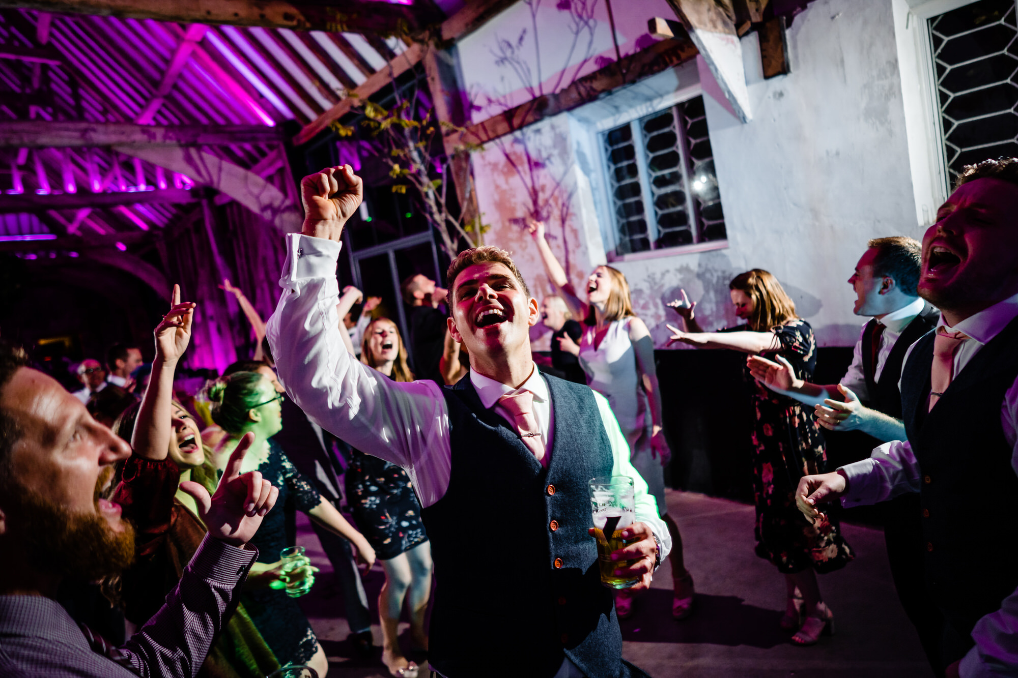 Henham Park Barns Wedding Reception