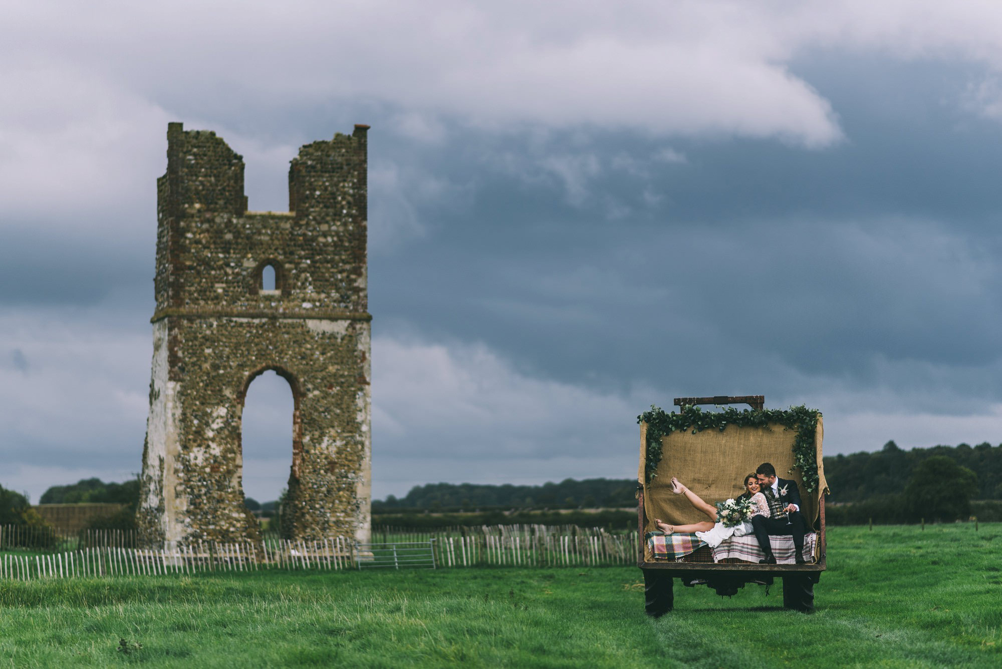 Couple by Godwick Ruins