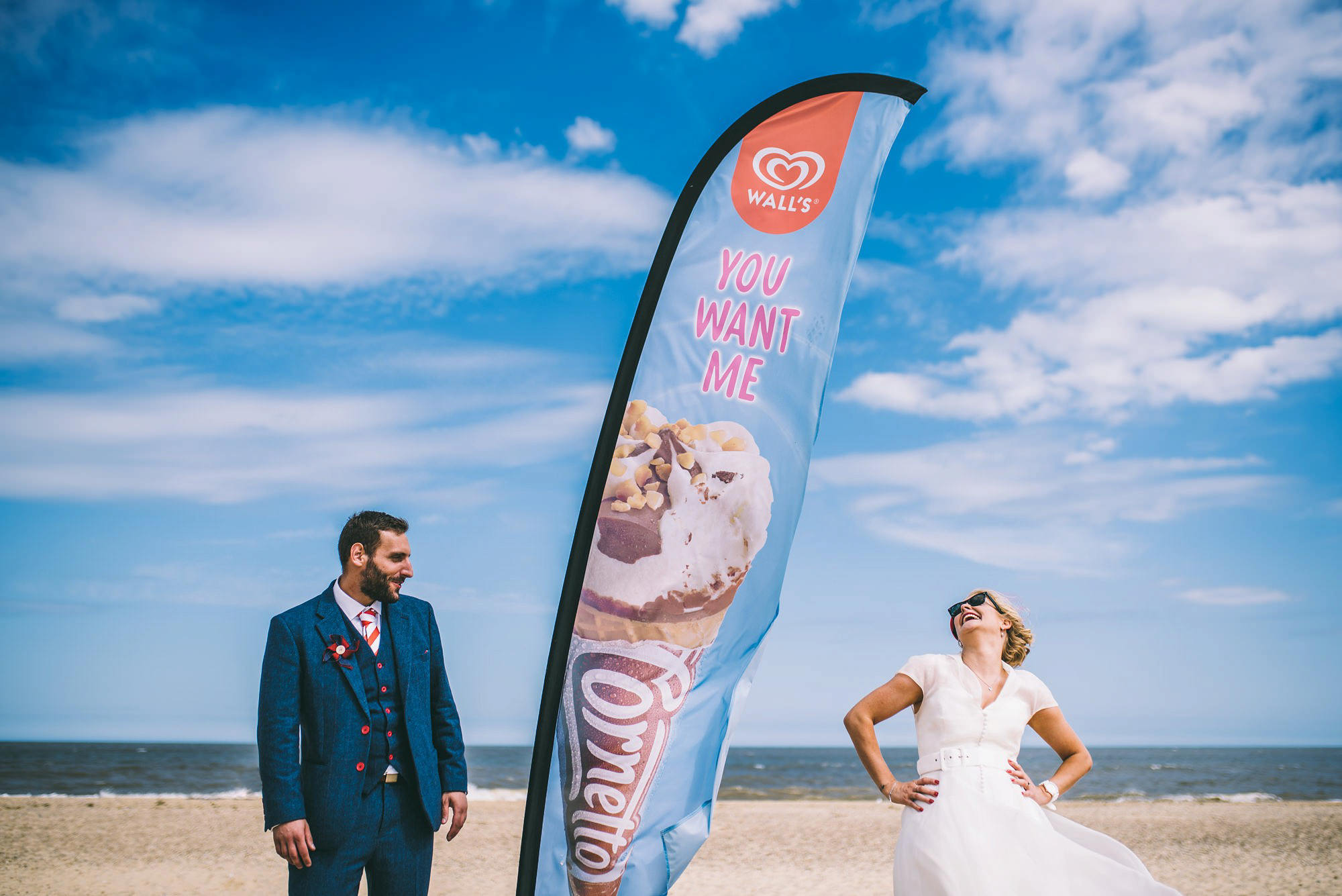 Southwold Wedding On The Beach