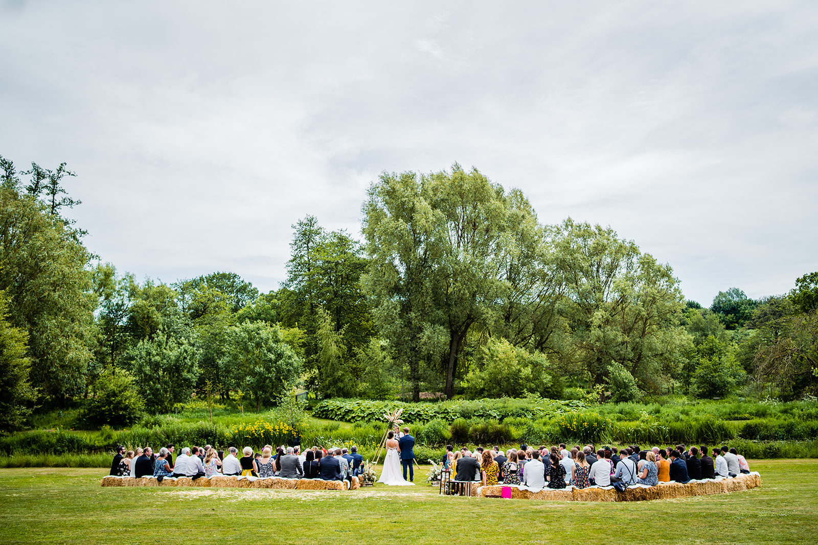 Couple Getting Married Outdoors In Norfolk