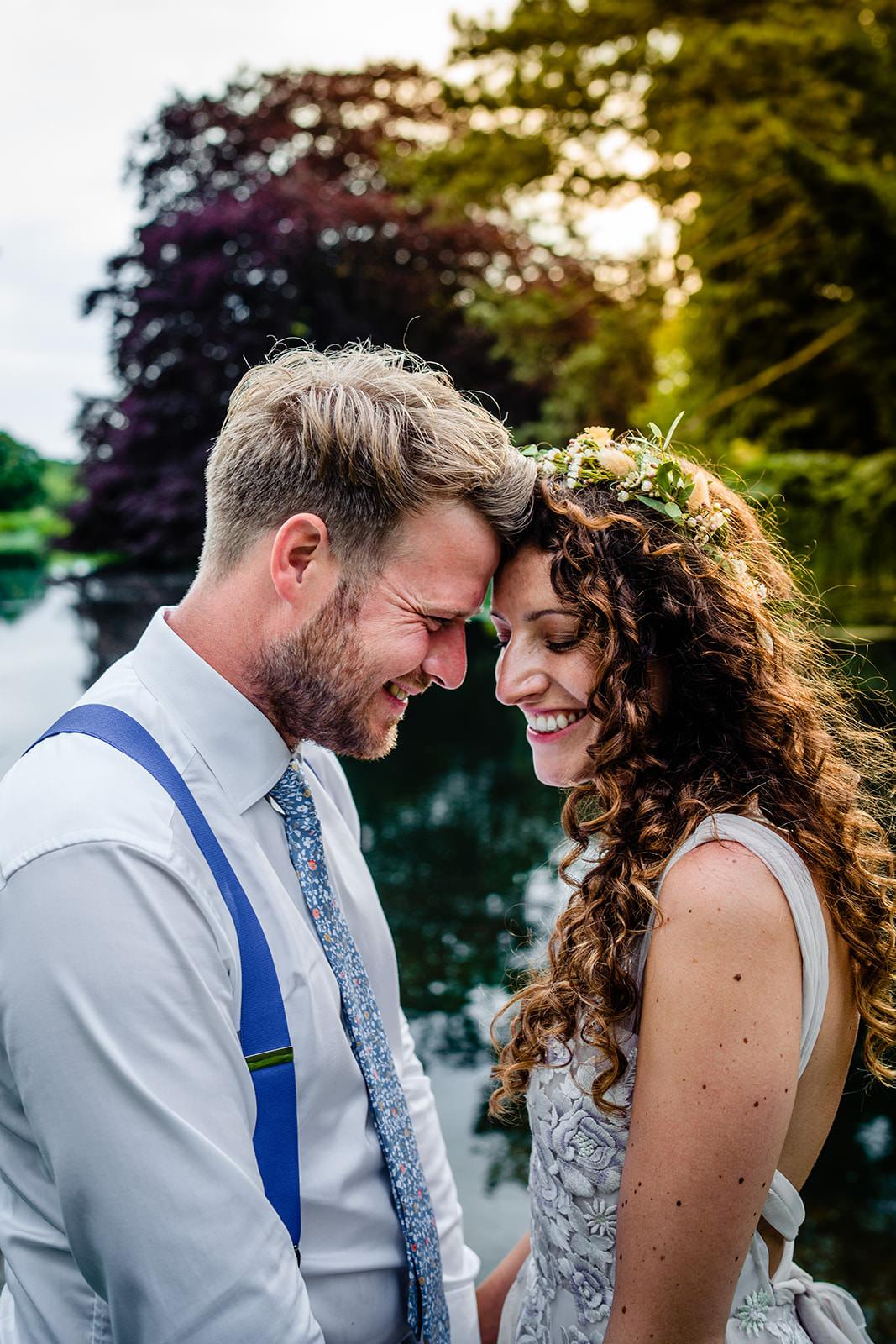 Bride and Groom Married In Norfolk
