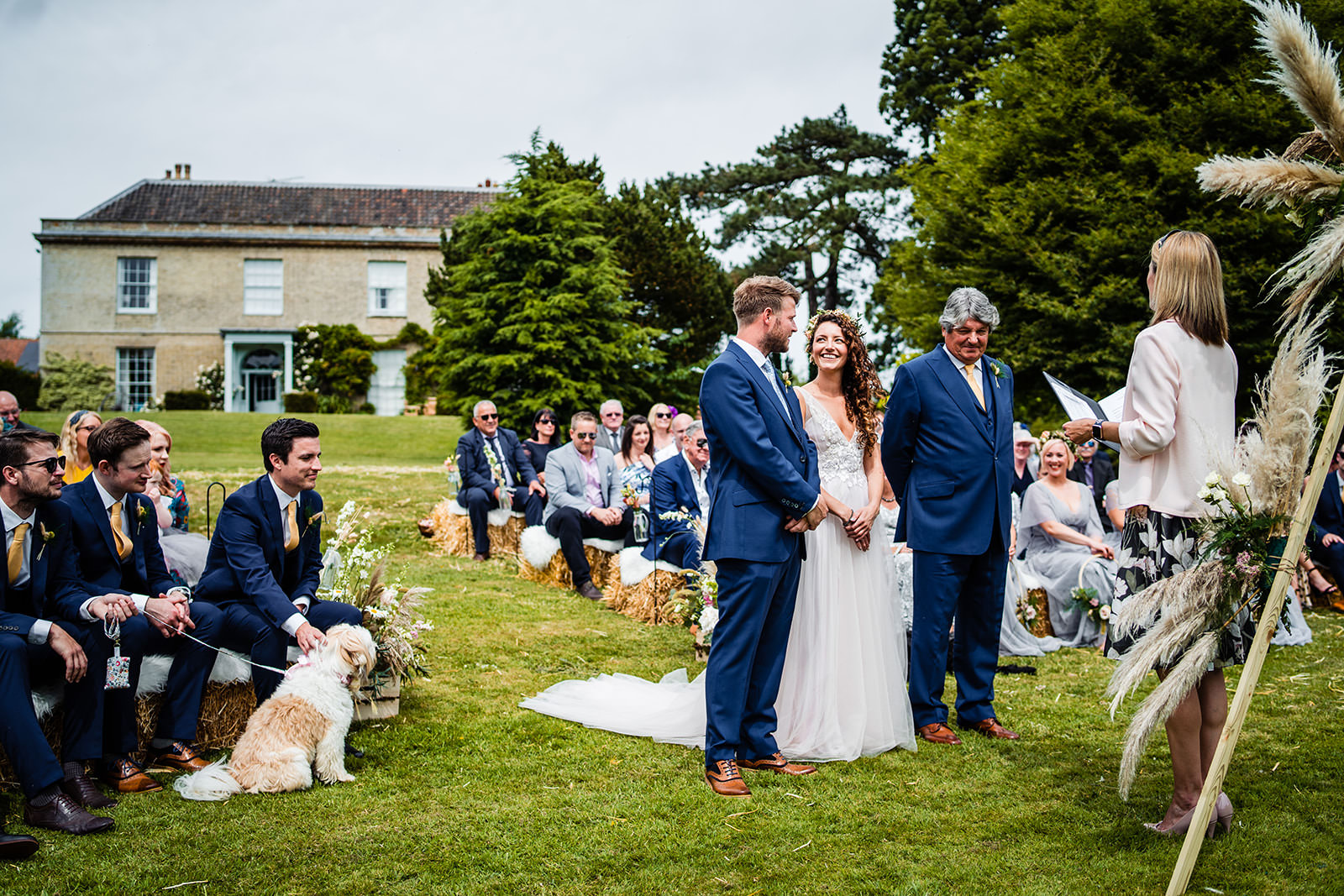 Getting Married Outdoors At West Lexham