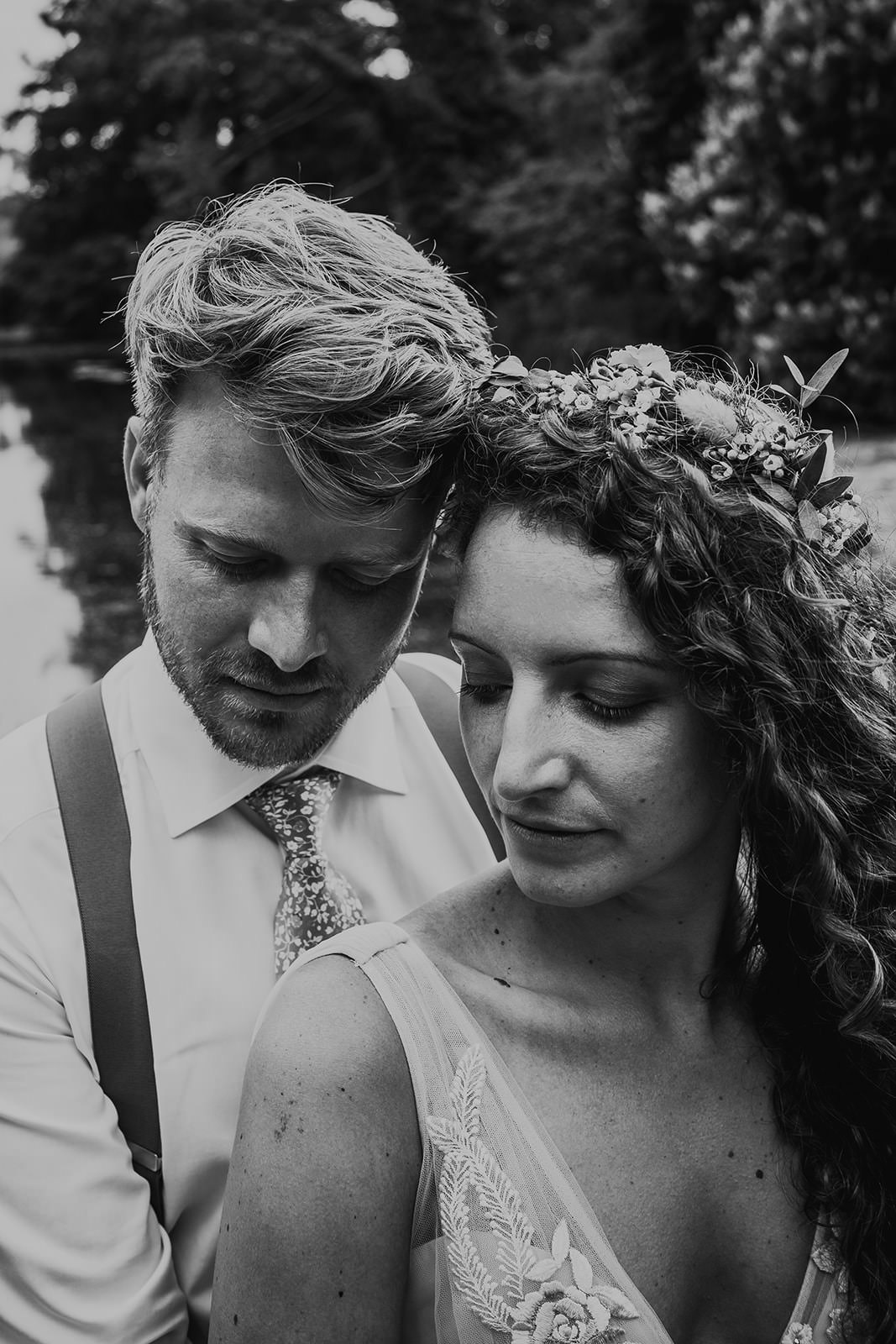Couple At West Lexham Lake